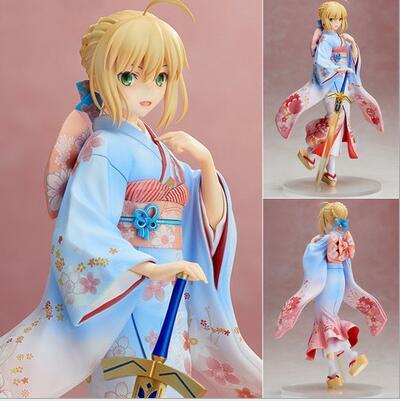 Fate Stay Night Saber Kimono Figure