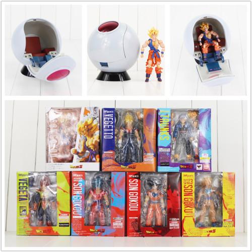 Dragon Ball Super Saiyan Son Goku Vegetto Vegeta Trunks  figure toy