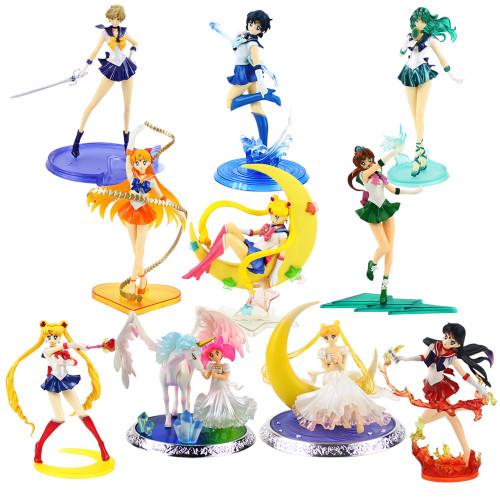 17CM Figuarts Sailor Moon Tsukino Figure Toy