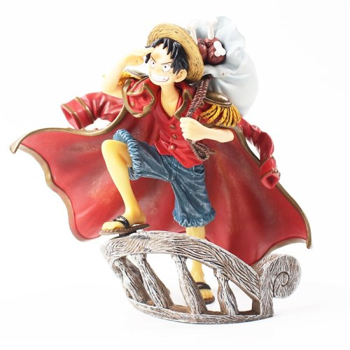 One Piece Luffy Mihawk Dracule Model Dolls
