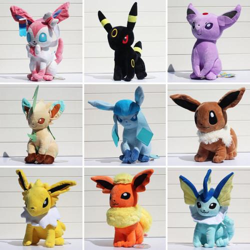 30CM Pokemon Eevee Plush Dolls