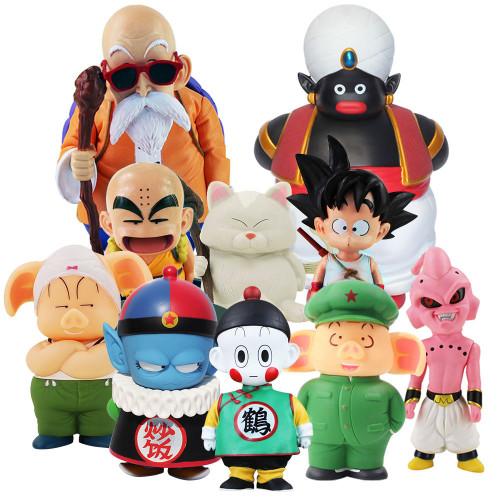 Dragon Ball Master Roshi Son Goku Oolong Pilaf Karin Toriyama Chiaotzu Action Figure Toys