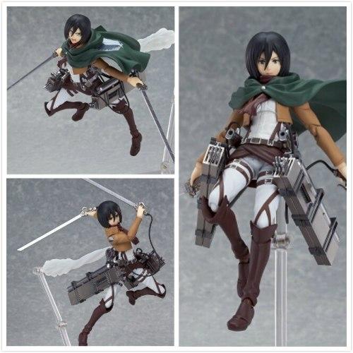 Good Smile KOTOBUKIYA Attack on Titan Eren Mikasa Ackerman Levi/Rivaille Figma Figure
