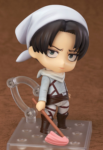Attack on Titan Levi Rivaille Mobile Cleaner Figure