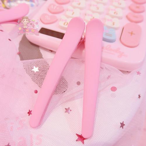 Pink Hairpin Duckbill  Cute Small Hair Accessories