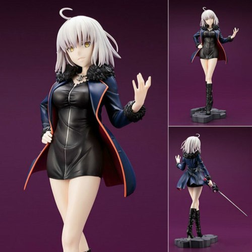 Max Factory Fate Grand Order Jeanne D'Arc Black Clothes With Sword Avenger Figure