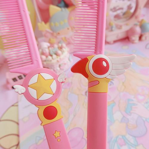 Variety Magic Card Girl Sakura Portable Comb