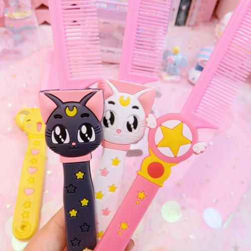 Sakura Portable Comb Set
