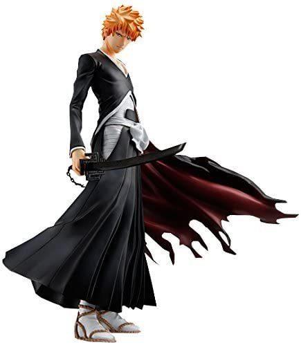 MegaHouse G.E.M. Series Anime Bleach Kurosaki Ichigo With Sword Action Figure