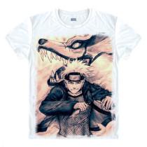 Naruto Akatsuki Logo Pattern Itachi Uchiha Sasuke Kakashi T-Shirt