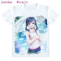 Weathering With You Makoto Shinkai Moive Tenki  Amano Hina T-Shirt