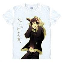 DRRR Durarara Orihara Lzaya Heiwajima Shizuo Mikado T-shirt