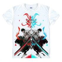 One Piece Roronoa Zoro Mihawk Prentice Strawhat Legion Swordsman Anime T-Shirt
