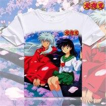 Anime Inuyasha Fairy Sesshoumaru Moneca Stori Breathable T-Shirt
