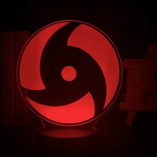 3D Naruto Usb Sharingan LED Night Light