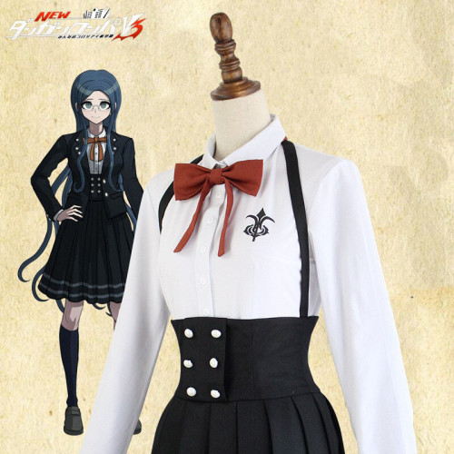 Danganronpa-V3-Killing-Harmony-Shirogane-Tsumugi-Uniform-Cosplay-School-Co