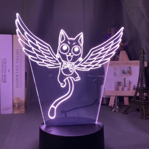 Animation Fair Tail Acrylic 3D Night Light