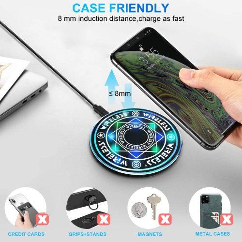 Magic Wireless Pad Ultra-Thin Slim Design Charger