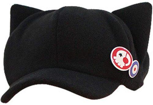 Kawaii Cat Ears Nice Shape Black Cap