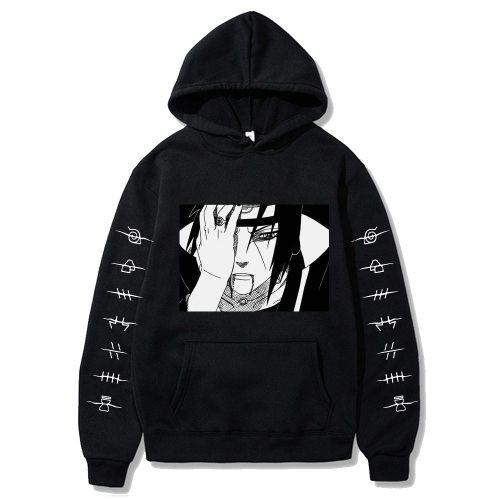 Naruto Akatsuki Itachi Cosplay Streetwear Hip Hop Hoodies