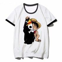Funny One Piece T Shirt Japanese Anime Shirt Men T-shirt Luffy T Shirts Clothing Tee Shirt Printed Tshirt Short Sleeve Top Tee