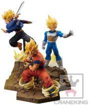Banpresto Dragonball Z Absolute Perfection Figure GOKOU & Vegeta & Trunks Set of 3 Figure