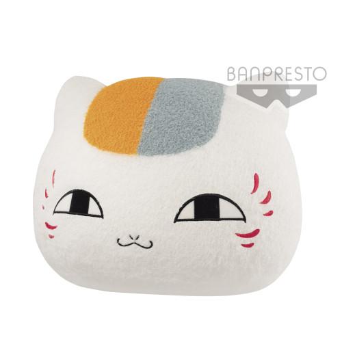 Banpresto Cat Teacher Face Plush Doll Natsume's Book of Friends March Edition Pillow