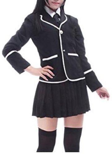 Evalent Classic Navy Sailor Suit School Uniforms