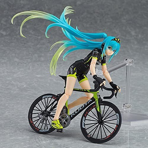 Max Factory Racing Miku Figma Action Team UKYO Support Version Figure