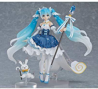 GOOD SMILE Hatsune Character Bokaru-Series Miku Snow Miku Snow Princess V Figma