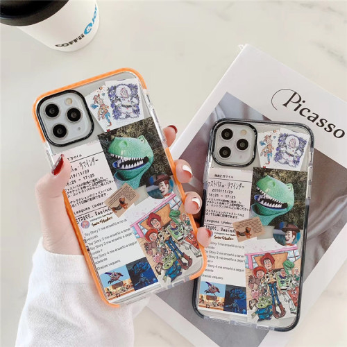 Dinosaur & Buzz Lightyear Silicone Phone Case