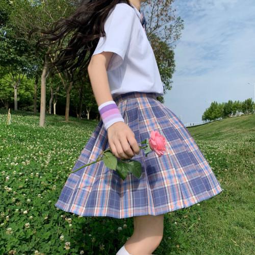 JK Pleated Skirt Plus Bowtie