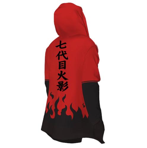 Anime NARUTO Cosplay Hooded Jackets