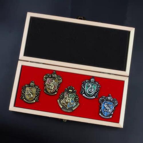 Harry Potter Pins 5 PCS/set Package