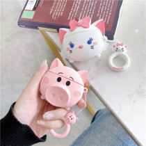 Cute Cartoon Airpods Silicon Soft Shell Protective Case