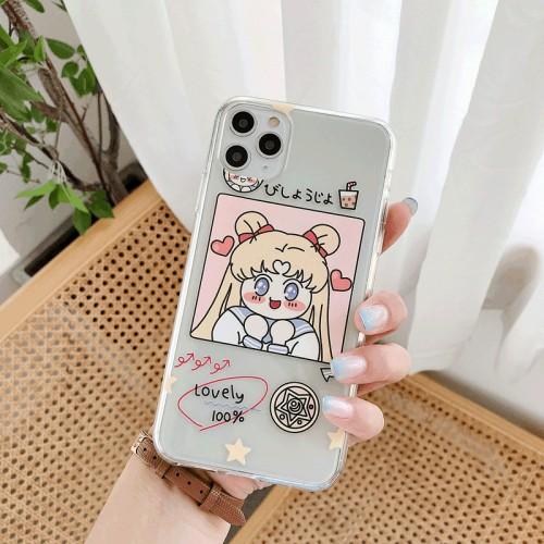 Q Version Sailor Moon IPhone Xsmax Apple 6S / 8plus / 11pro Protective Case