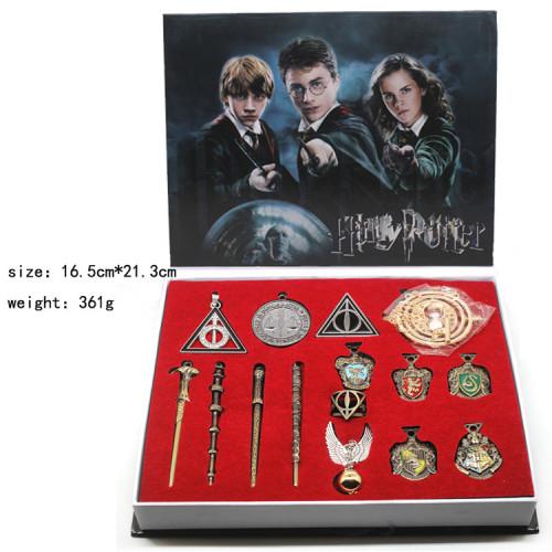 Harry Potter Wands & Pendants & Necklaces Package