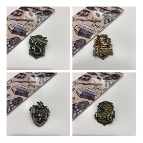 Harry Potter Academy Metal Pins