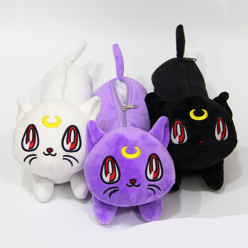 Sailor Moon Luna Cat Plush Pencil Cases