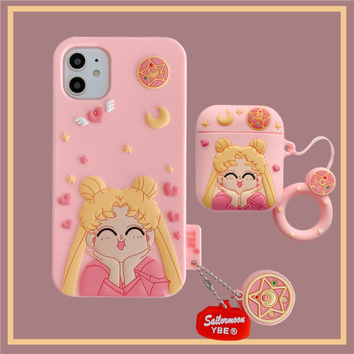 Sailor Moon Airpods&Iphone XR Protective Case