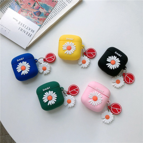 Daisy Pattern Lollipods& Airpods Pro Silicone Bluetooth Headset