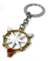 Card Captor Sakura Star Pendant Key Chains & Necklaces