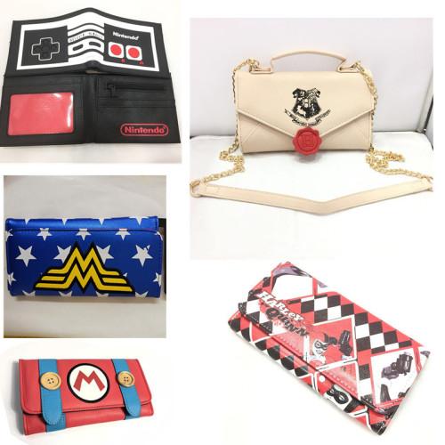Harry Potter Harleen Quinzel & Wonder Woman Cross Bags & Wallets