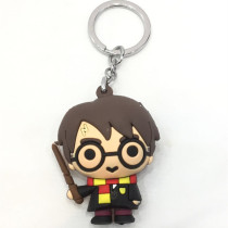 Harry Potter Silicone Key Chains