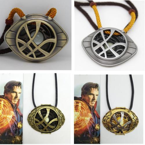 Doctor Strange Eye Of Agamotto Necklaces