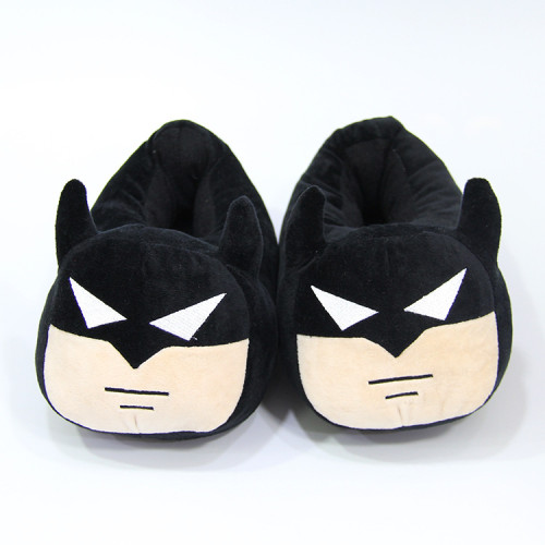 Batman Bruce Wayne Cartoon Plush Slippers