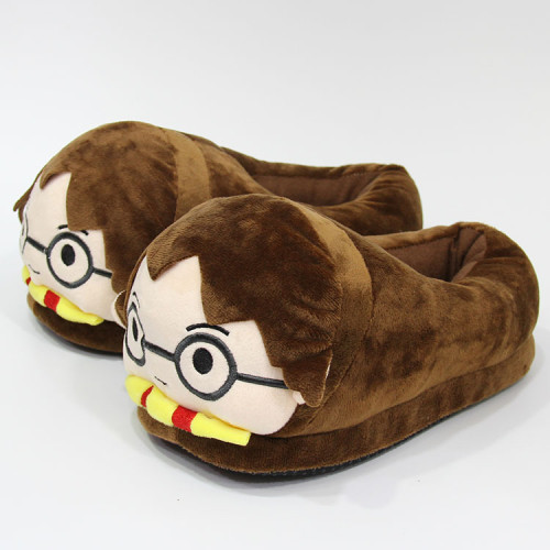 Harry Potter Cartoon Plush Slippers