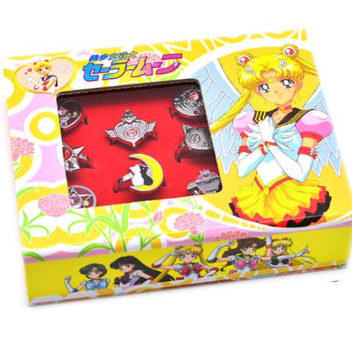 Sailor Moon Pendant Rings