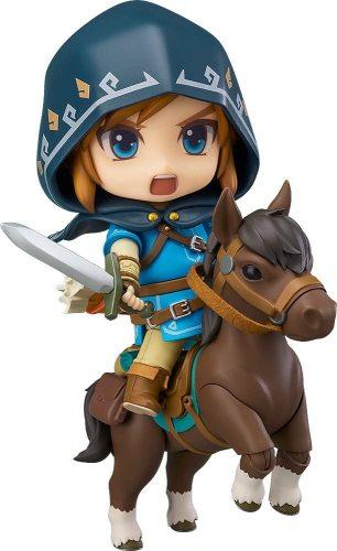 Good Smile The Legend of Zelda Breath of the Wild Link Deluxe Version Figure