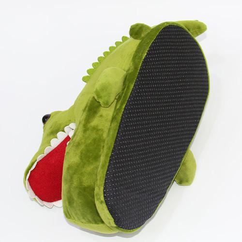 Cartoon Cute Crocodile Plush Slippers